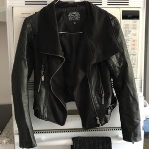 Blanca Noir Leather Jacket